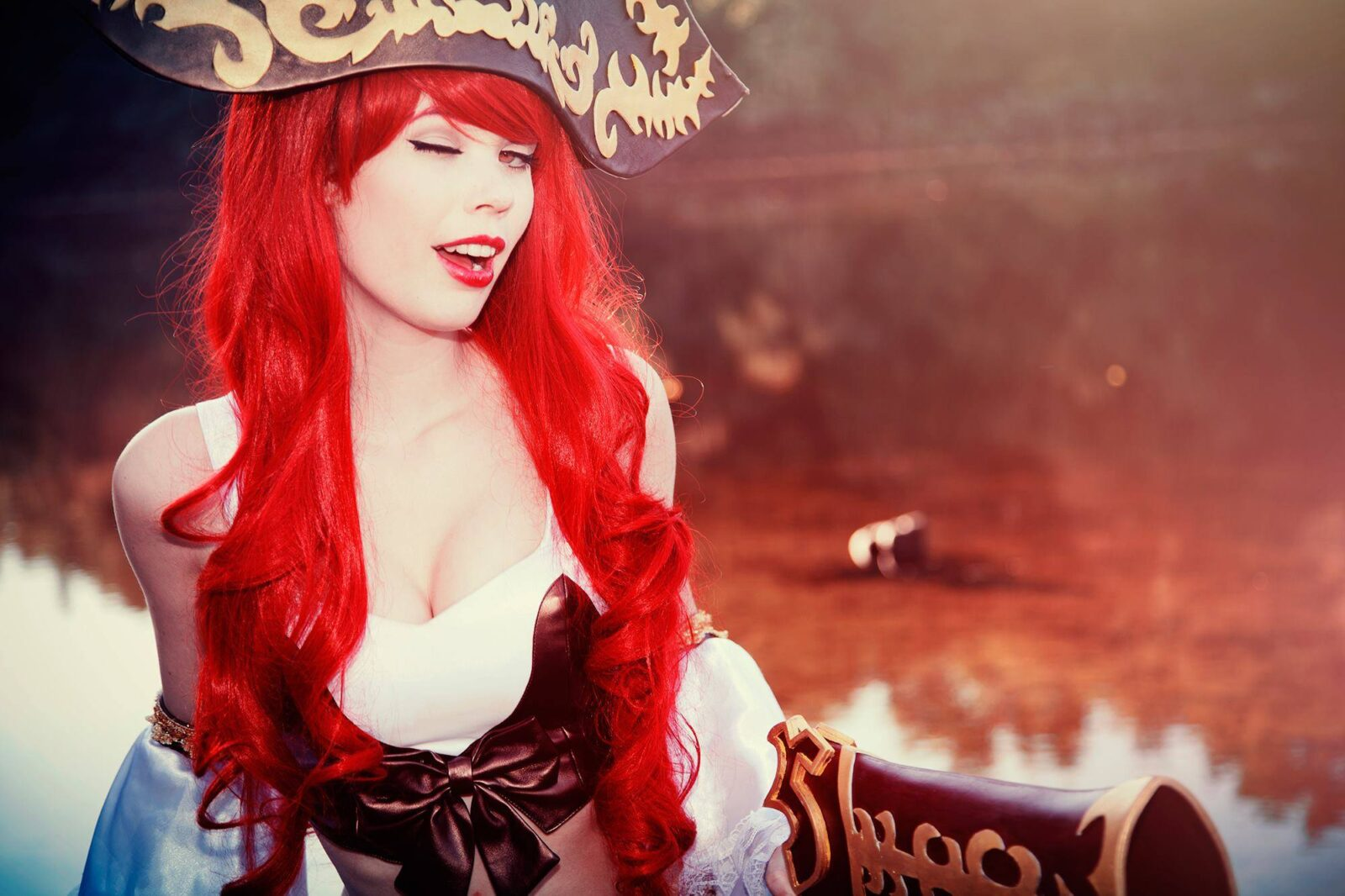 The League Of Legends Is Proud To Have Tine Marie Riis Cosplay