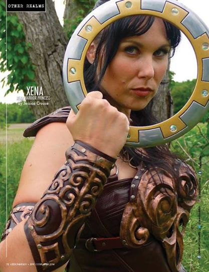 Warrior Princess Jessica Crouse Cosplay